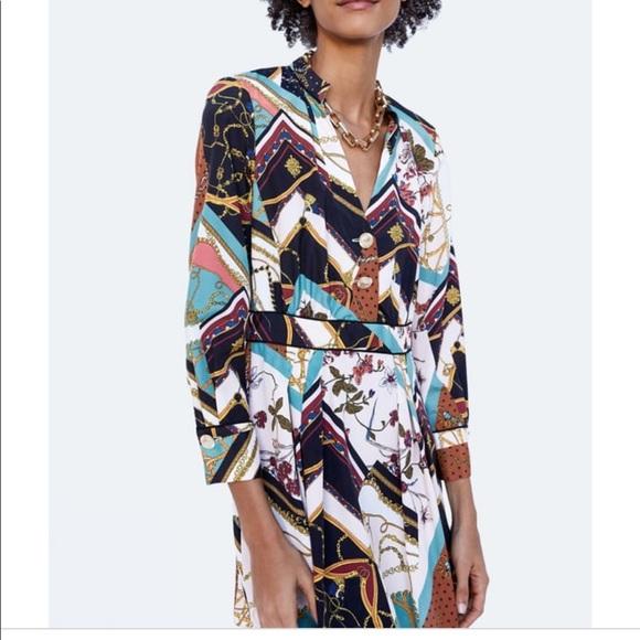 372da0d0 Zara Dresses   Nwot Patchwork Chain Dress Size Xs   Poshmark